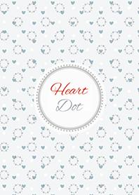 Dot4 - blue green (heart)