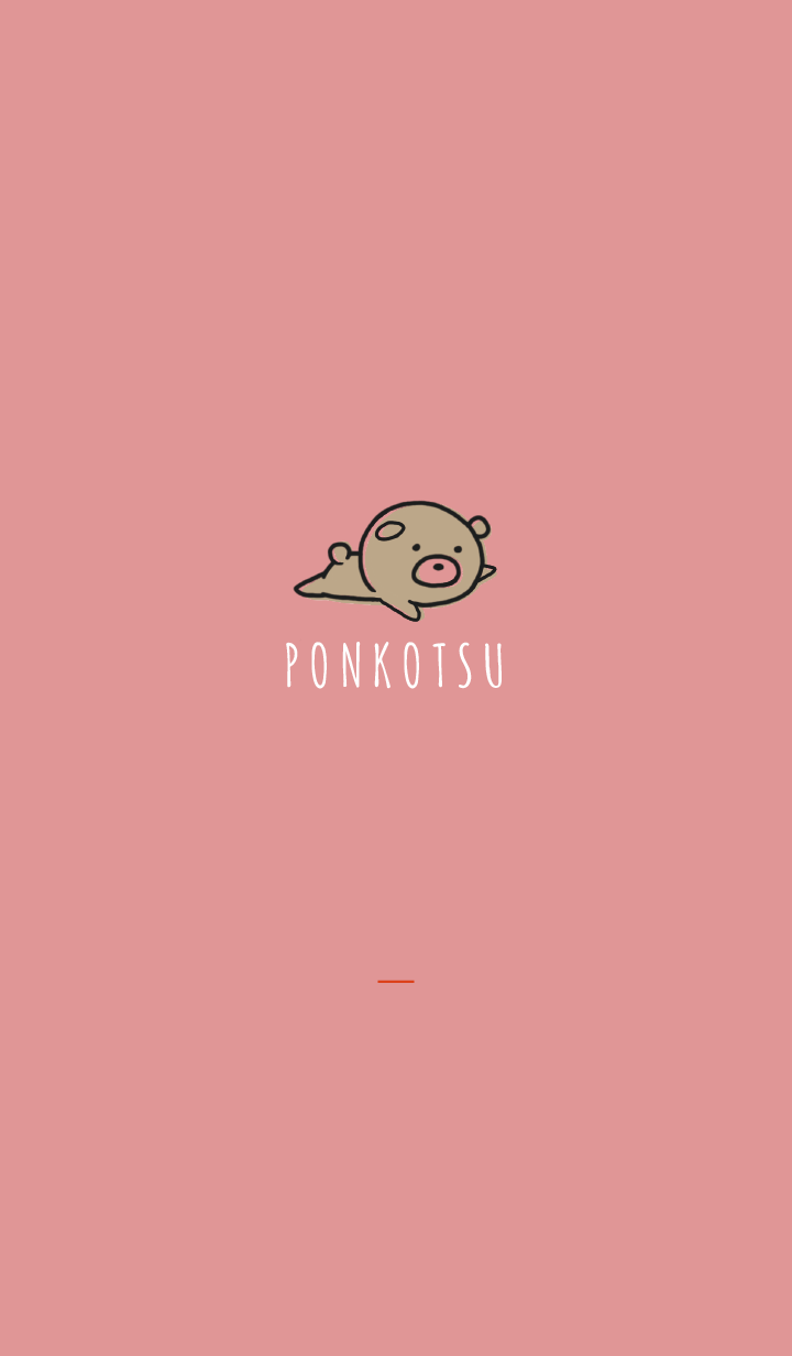 Red : Bear PONKOTSU 2