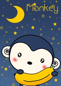Monkey With Stars
