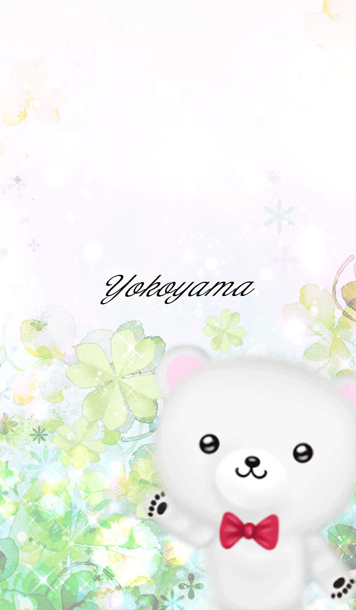 Yokoyama Polar bear Spring clover