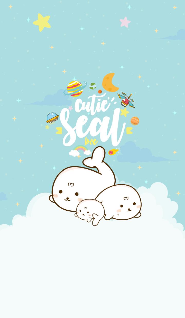 Seal Cutie Galaxy Sea