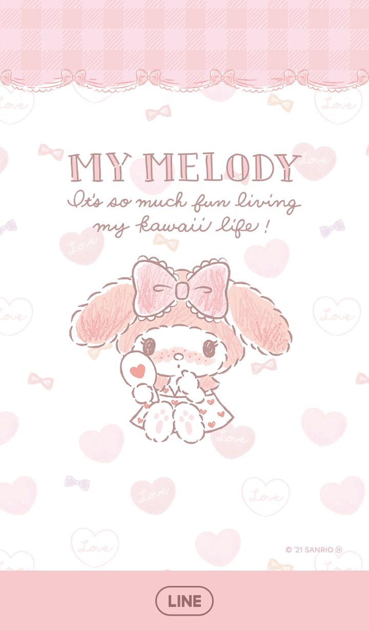 【主題】My Melody(粉色妝篇)