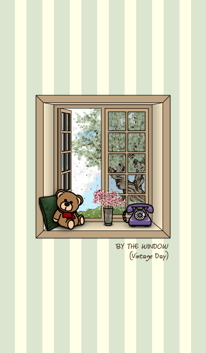 BY THE WINDOW (Vintage Day)