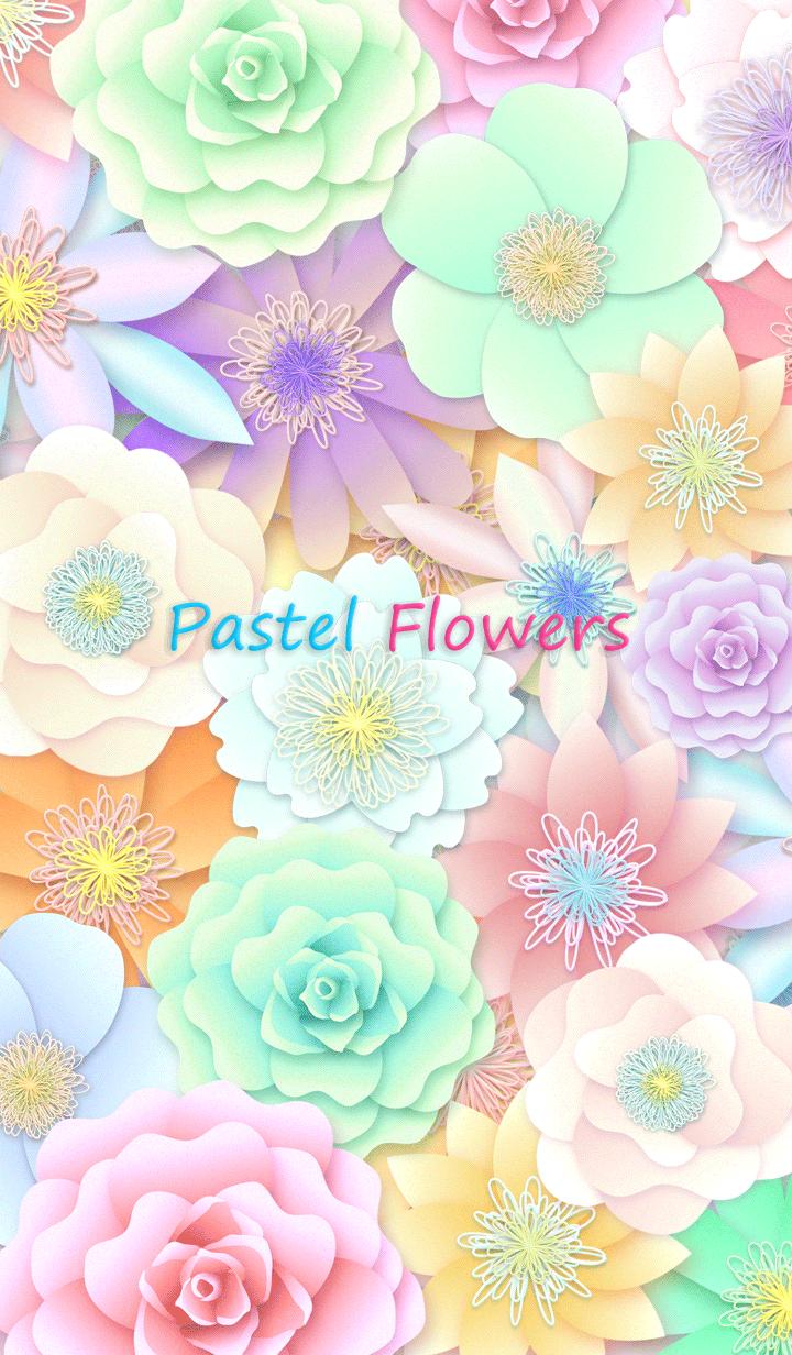 *Pastel Flowers*