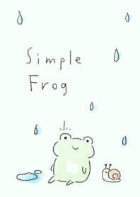 simple Frog Green Theme