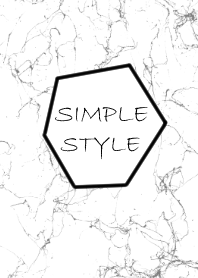 Marble simple style