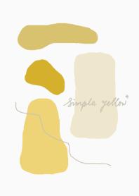 simple yellow*
