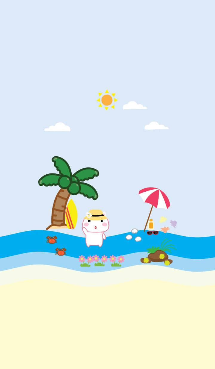 Simple sea cat theme (JP)