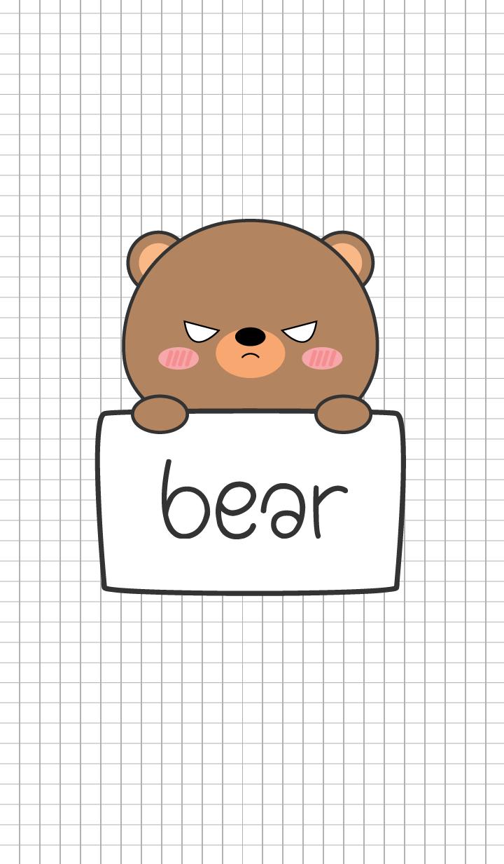 Simple Angry Bear (jp)