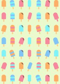 sweet ice cream - popsicle