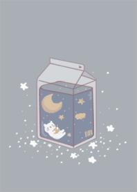月與子貓-藍