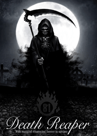 Death reaper Day of the dead 81