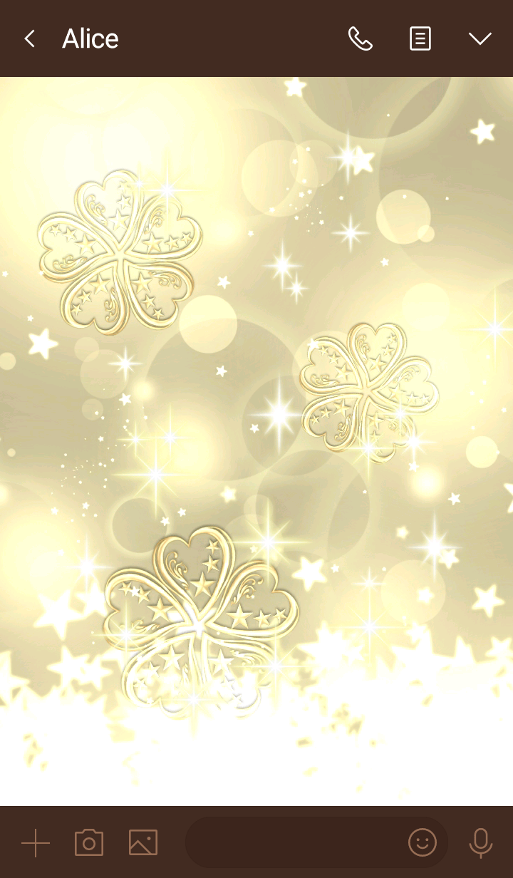 Fortune up Clover in the sea of light 5