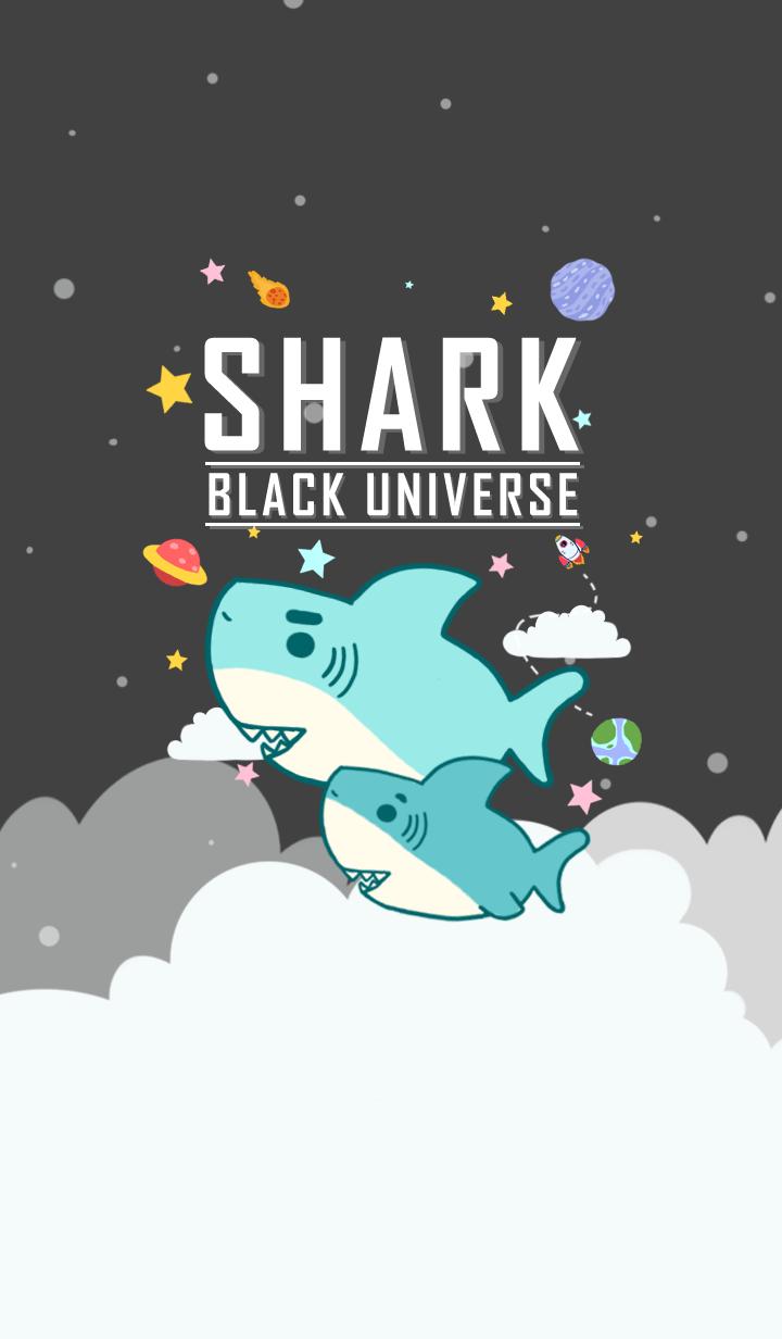 misty cat- shark black universe