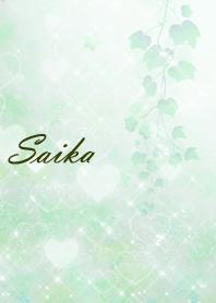 No.390 Saika Heart Beautiful Green