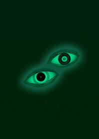 Blue Green Eyes Icon