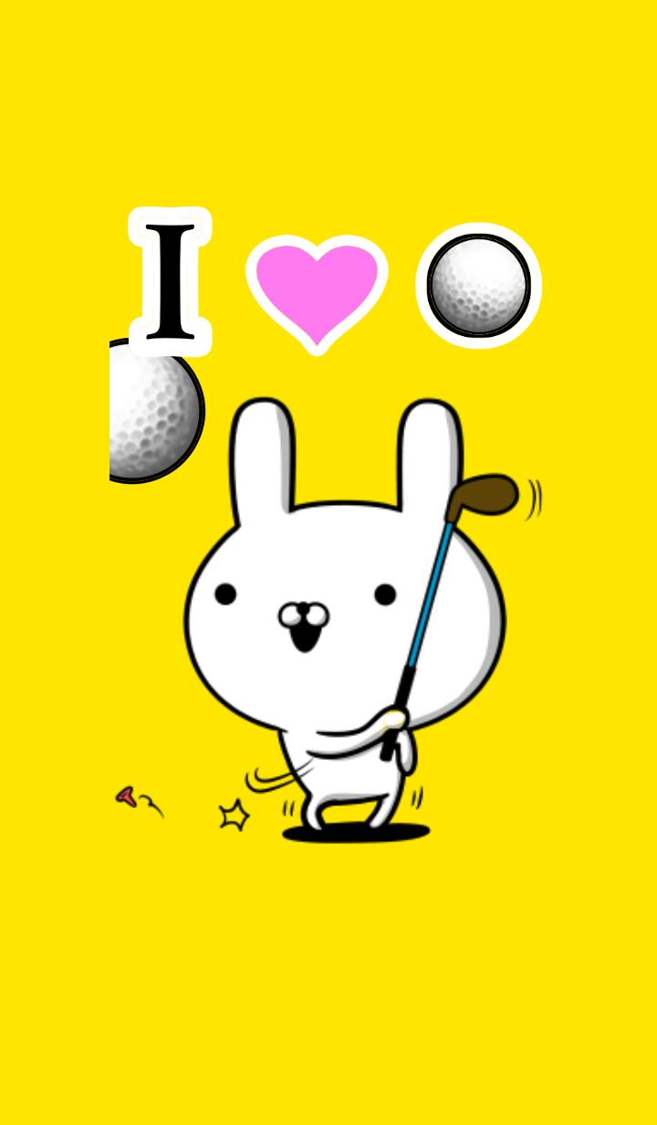 I love nice golf