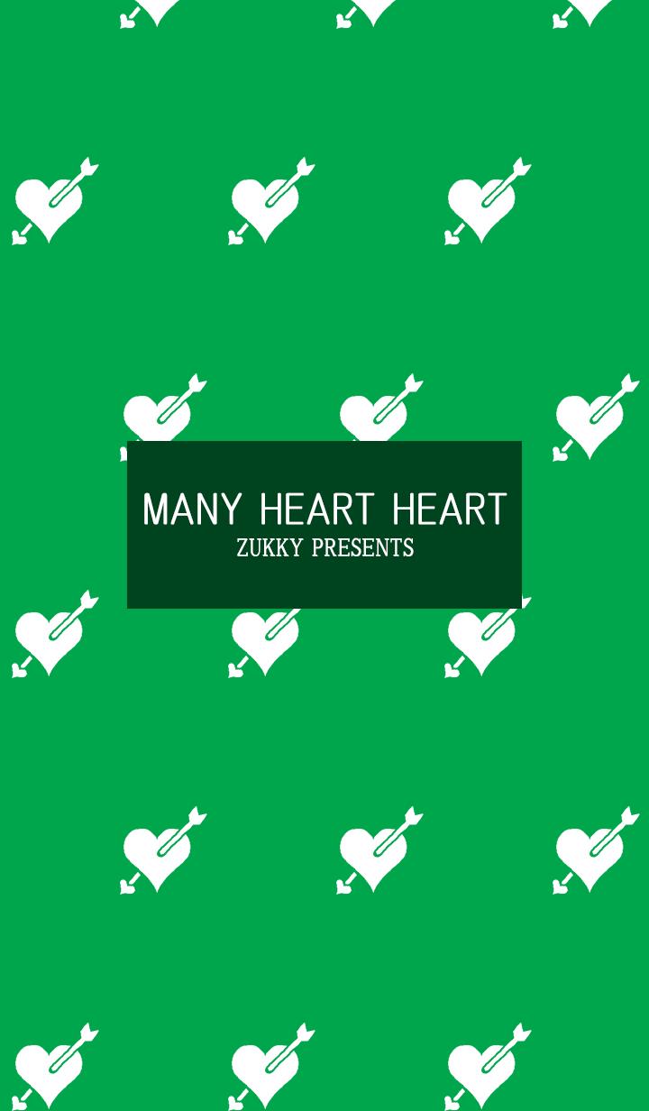 MANY HEART HEART13