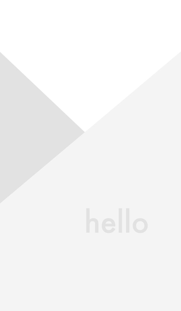 hello - ホワイト