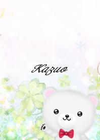Kazuo Polar bear Spring clover