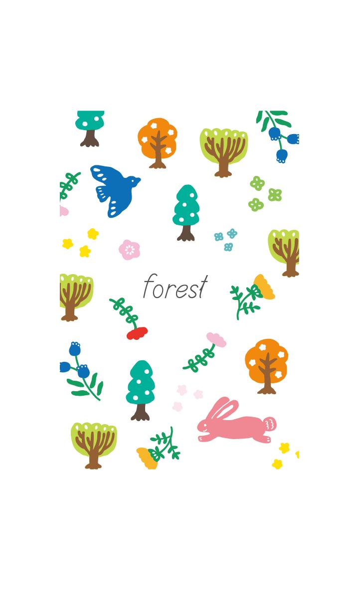 forest dress up line