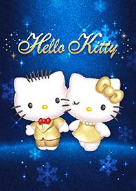 Hello Kitty 璀璨金&寶藍