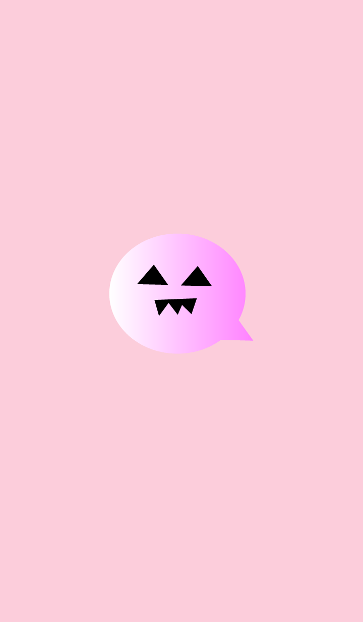 simple Halloween(pink1)