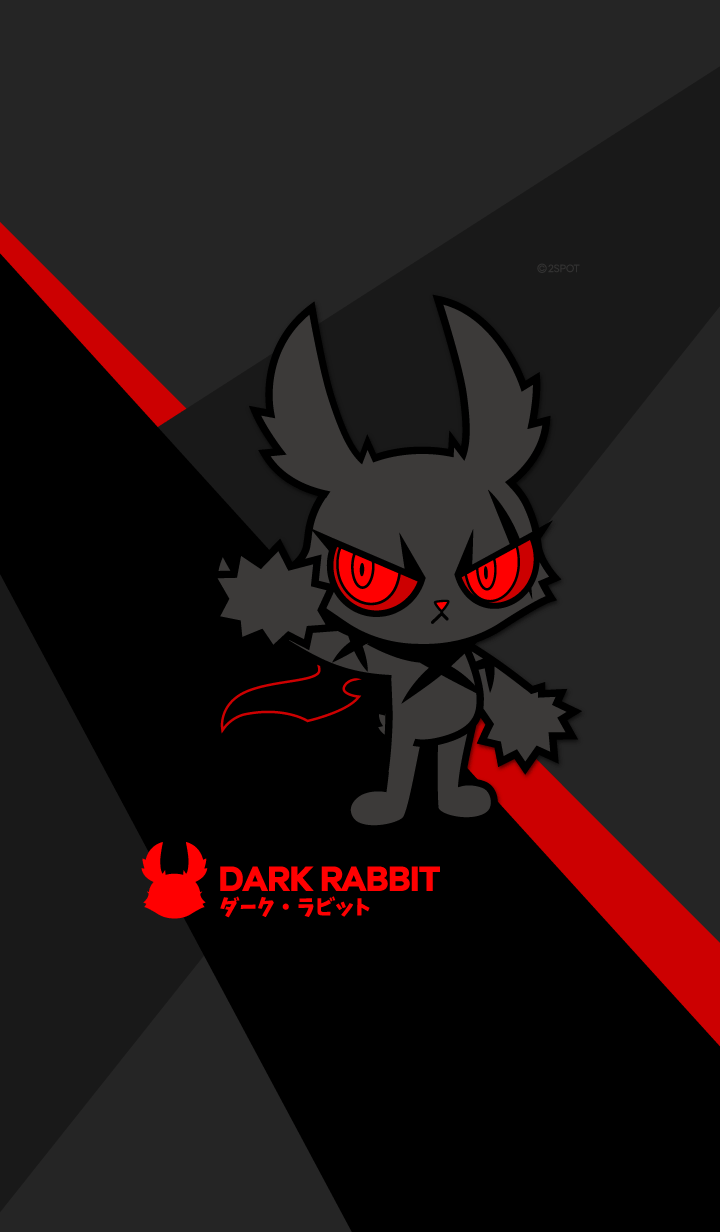 DARK RABBIT : Black is my Brightest