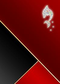 棕红色和黑色海豚珠宝