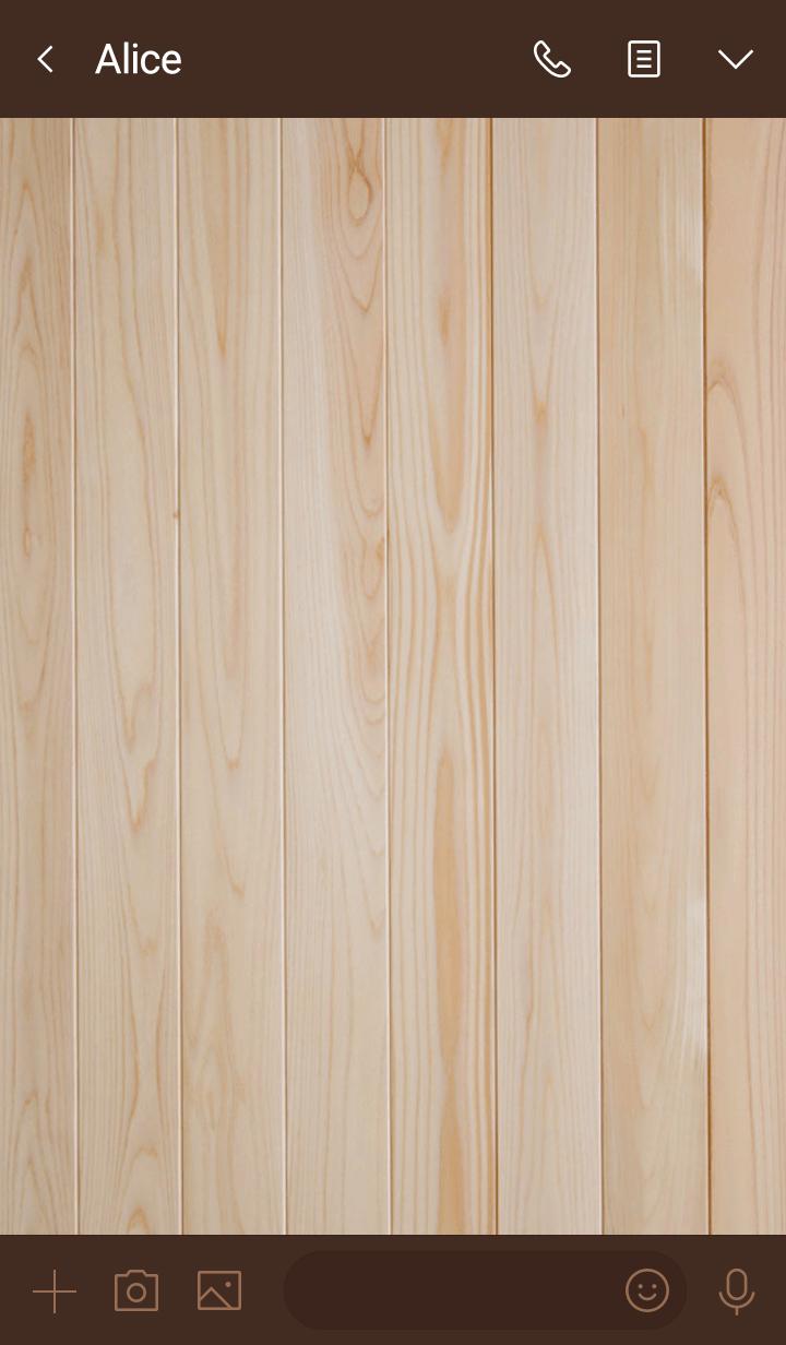 Wood Simple Design Heart Pink ver.