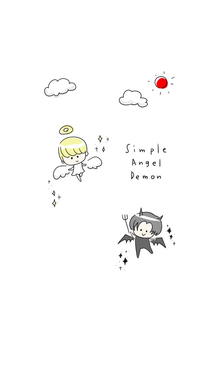 simple angel Demon