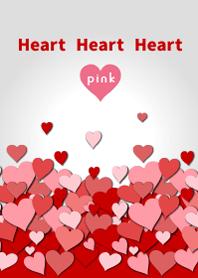 Heart Heart Heart pink