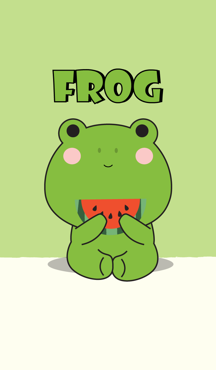 Simple Love Frog Theme Vr.2