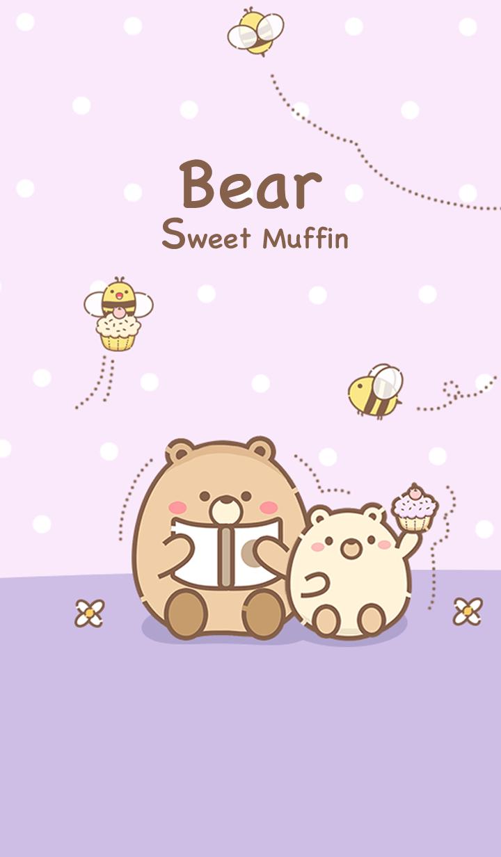 Bear & Bee Sweet Muffin