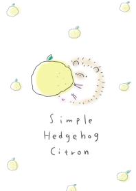 簡單的 刺猬 柚子