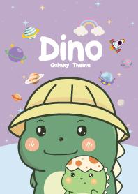 Dino Cutie Galaxy Violet