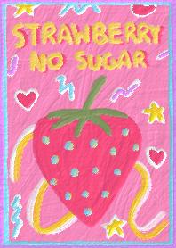 strawberry, no sugar