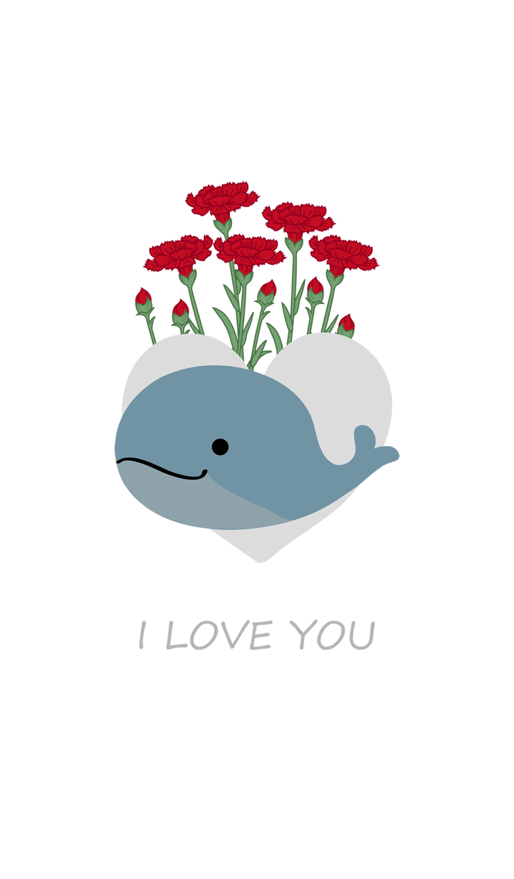 Mother's Day limited whale