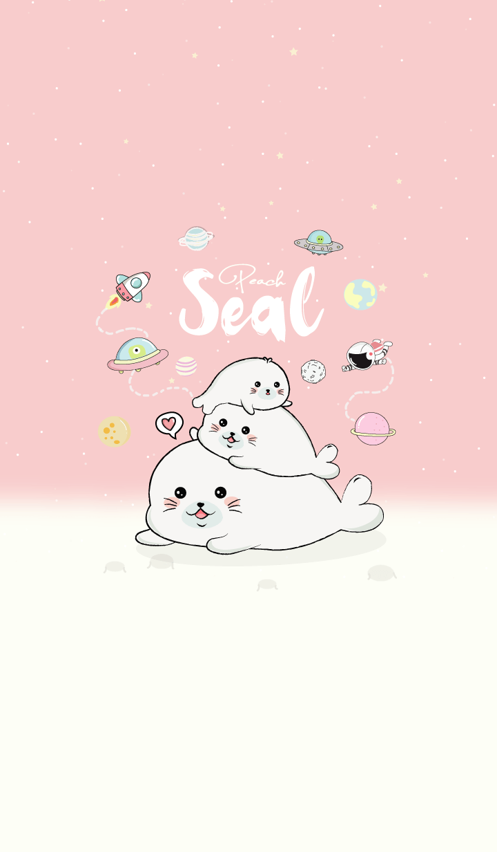 Seal Lover. (Pink)