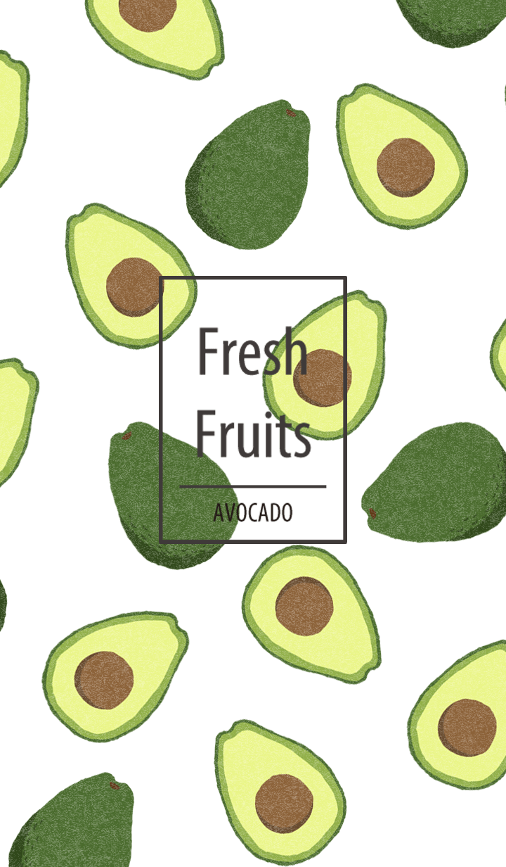 Fresh Fruits AVOCADO