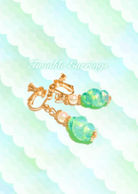 twinkle mermaids earrings