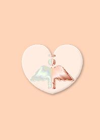 Orange Angel Jewelry Heart