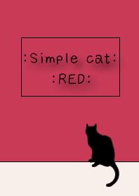 =SIMPLE CAT RED=