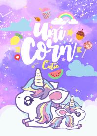 Unicorn Kawaii Love Cloud