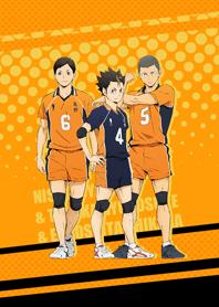 Karasuno Nishinoya&Tanaka&Ennoshita