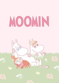 Moomin 柔和粉色篇