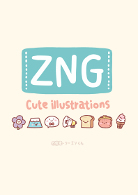 ZNG-Cute illustrations