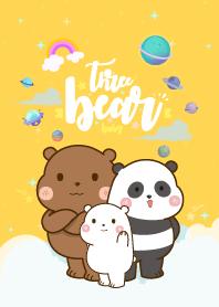 Three Bear Lover Yellow