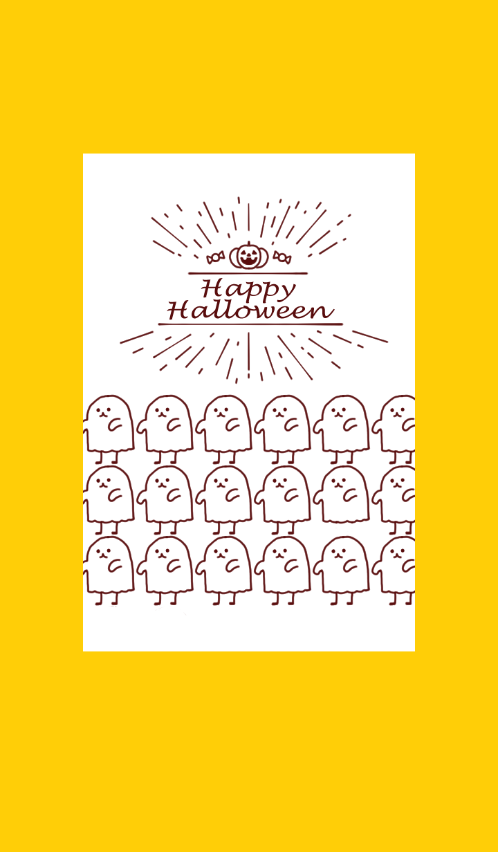 A lot of cute ghosts. Halloween2019