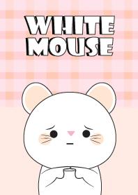 I 'm Cute White Mouse